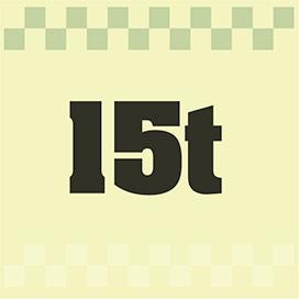 15t平車